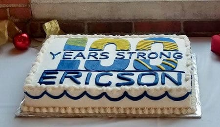 Ericson 100 year anniversary party cake