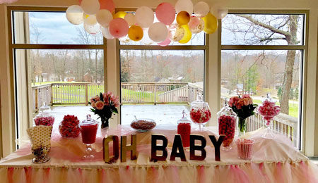 Drop-off Baby Shower catering