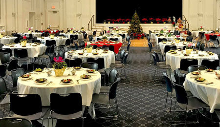 Corporate holiday party by Normandy Catering