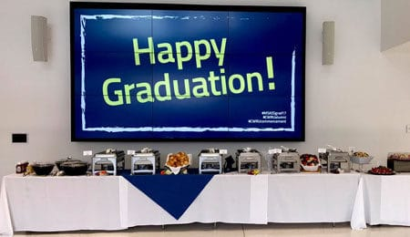 drop-off graduation catering by Normandy Catering