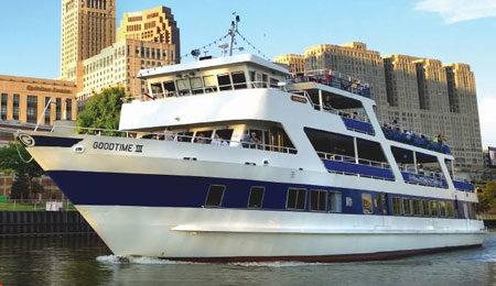 Goodtime III cruise ship event venue