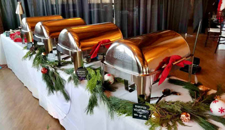 Holiday Party Buffet by Normandy Catering