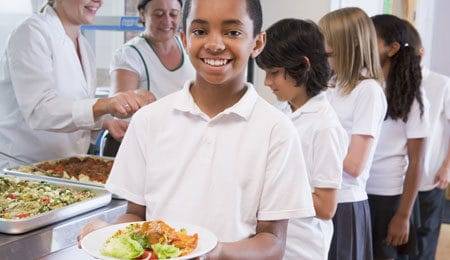 k-12 School lunch food service