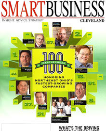 Normandy Catering on the Cover of Smart Business Magazine