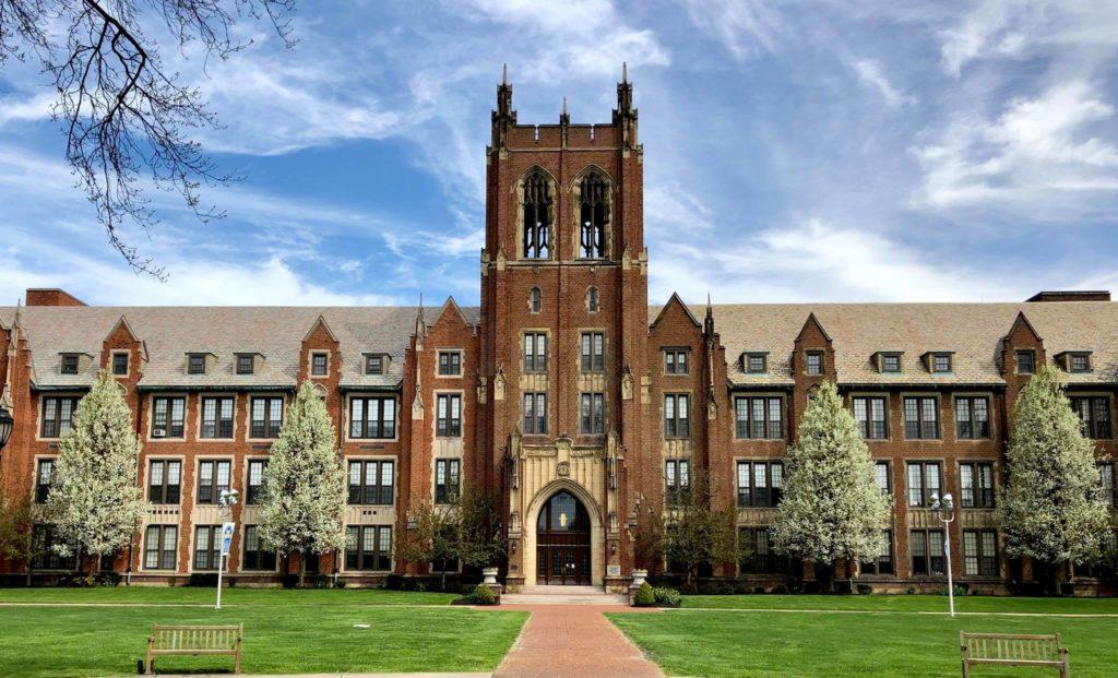Notre Dame College in South Euclid, Ohio Wedding Venue
