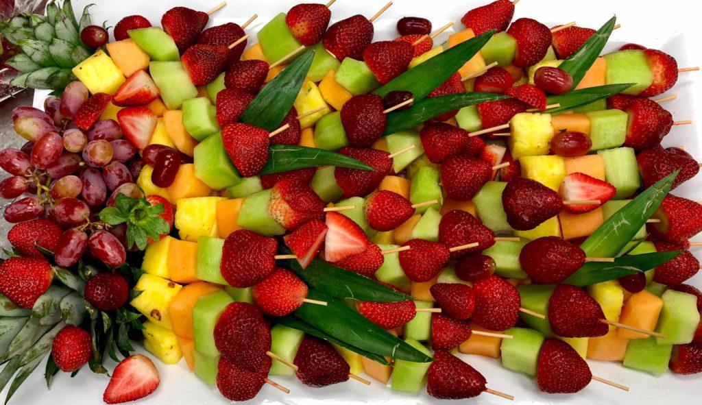 Fruit Kabob Dessert or Snack